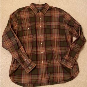 American living men's button down. Worn once. XL